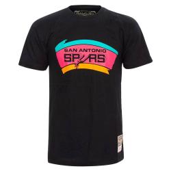 Mitchell & Ness Nba San Antonio Spurs Neon Logo Svarta 183 - 187 cm/L
