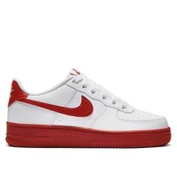 Nike Air Force 1 GS Vit,Röda 38