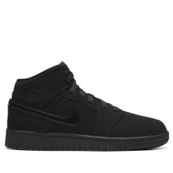 Nike Air Jordan 1 Mid Svarta 37.5