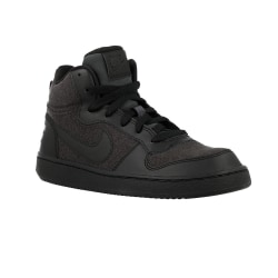 Nike Court Borough Mid S Svarta 36.5