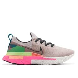Nike React Infinity Run Flyknit Premium W Gröna,Beige,Rosa 38.5