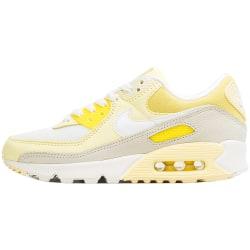 Nike Wmns Air Max 90 Vit,Gula,Krämiga 37.5