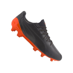 Puma King Platinum FG AG Svarta,Orange 41