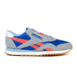 Reebok CL Nylon Ripple MU Gråa,Orange,Blå 44