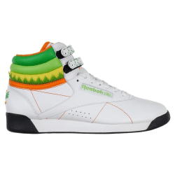 Reebok Freestyle High Sushi Gröna,Vit 36