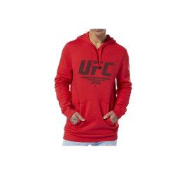 Reebok Ufc FG Pullover Hoodie Röda 188 - 191 cm/XL