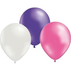 Ballonger 24-pack Lila/Rosa/Vit multifärg