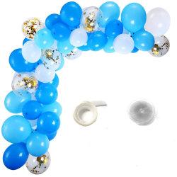 Sassier - Ballongbåge 100 Ballonger + Limduttar och Ballongband multifärg
