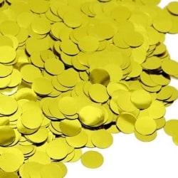 Sassier - Bordskonfetti   Konfetti Guldfärgad 30g Guld