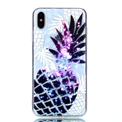 Ananas -skal för iPhone Xs Max multifärg