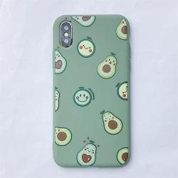 Avokados -skal för iPhone Xs Max Grön