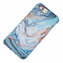 Blå marmor- skal till  iPhone 7 plus multifärg
