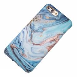 Blå marmor- skal till iPhone 8 plus multifärg