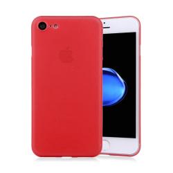 Frostat skal - iPhone 8 Röd