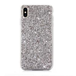 Glitter -skal för iPhone Xs Max Silver