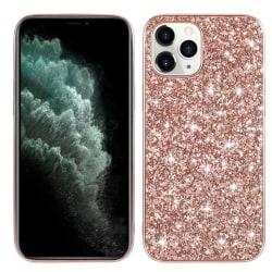 Glitter skal- iPhone 12 / 12 PRO  Rosa guld
