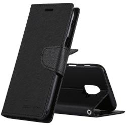 GOOSPERY plånbok - Samsung Galaxy A6 (2018) Svart