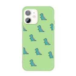 Grönt skal med dinosaurier- skal för iPhone 11  Grön