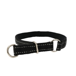 Halvstryp halsband- Dogman Black S