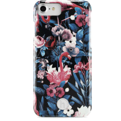 Holdit- iPhone 6/7/8/ SE 2020 - PARIS FLAMINGO GARDEN multifärg