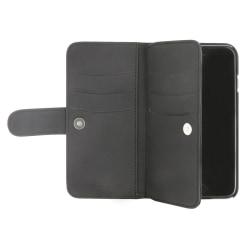 Holdit- iPhone 6/7/8/ SE 2020 - Plånbok med magnetskal FLERFACK Svart