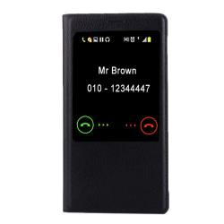 Huawei Mate 8 - Fodral med vakna/vila funktion Svart