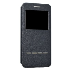 Huawei P10 fodral med Call-ID & Svara funktion Svart