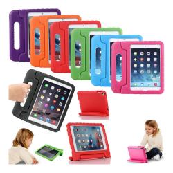iPad Mini 1/2/3/4/5 - Barnvänlig & stöttåligt skumsilikon skal Ljusblå