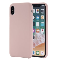 iPhone Xs Max - Silicone Case - Mobilskal i silikon Rosa