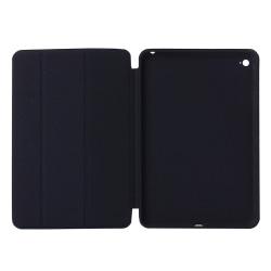 Konstläder fodral med vakna/vila-funktion till iPad Mini 4 Svart