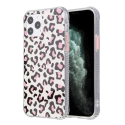 Leopard skal- iPhone 12 / 12 PRO  Rosa