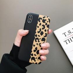 Leopardskal - för iPhone Xs Max multifärg