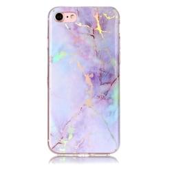 Marmorskal LILA - iPhone 7/8/SE 2020 Lila