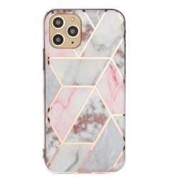 Mönstrat marmor skal för iPhone 11 PRO MAX MultiColor
