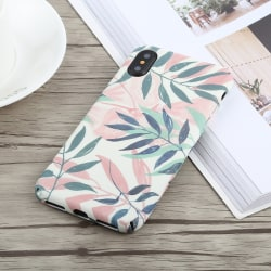 Palm löv- Skal för iPhone X/Xs multifärg