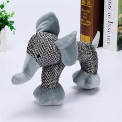 Pipleksak- Elefant  grå