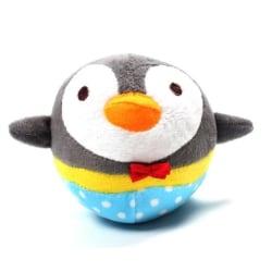 Pipleksak pingvin- RUND grå