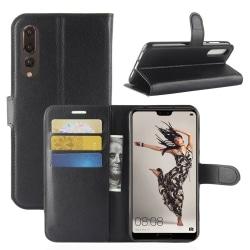 Plånbok för Huawei P20 PRO Svart