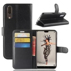 Plånbok för Huawei P20  Svart