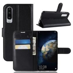 Plånbok för Huawei P30 Svart