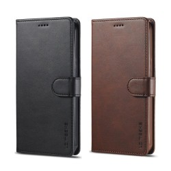Plånbok för iPhone 12 PRO MAX med 3 st kortfack Svart