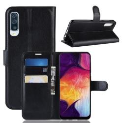 Plånbok för Samsung Galaxy A50 Svart