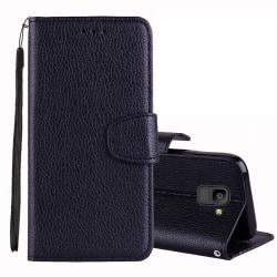 Plånbok för Samsung Galaxy J6 (2018) Svart