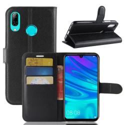 Plånbok med 3 st kortfack- Huawei P30 Lite Svart