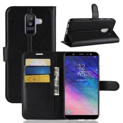 Plånbok - Samsung Galaxy A6 Plus (2018) Svart