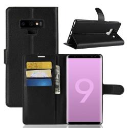 Plånbok- Samsung Galaxy Note 9  Svart
