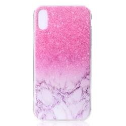Rosa Marmor- skal för iPhone Xs Max Rosa