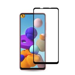 Samsung Galaxy A21S- Premium Glas Skärmskydd Transparent
