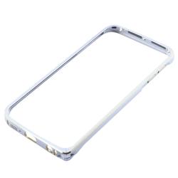 Samsung Galaxy S6 Edge - Aluminium Bumper Silver