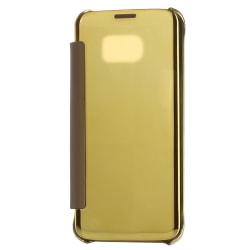 Samsung Galaxy S7 Edge - View-cover smart fodral Guld